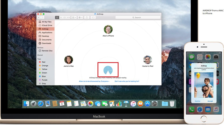 mac to iPhone
