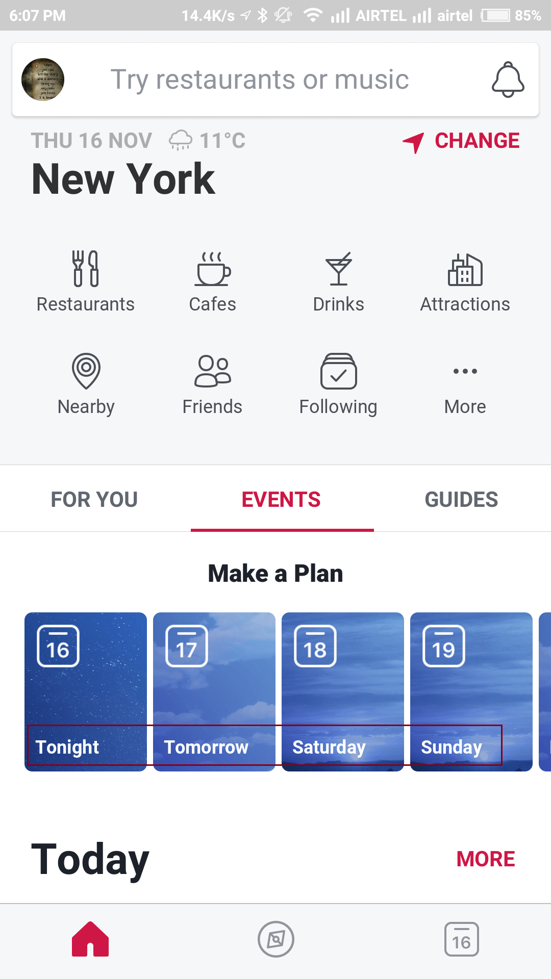 make a plan on facebook local