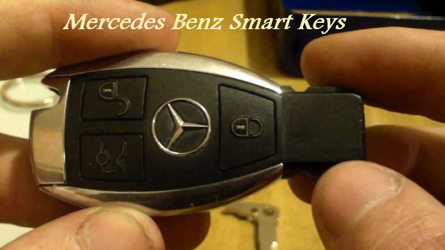 mercedes benz smartkeys