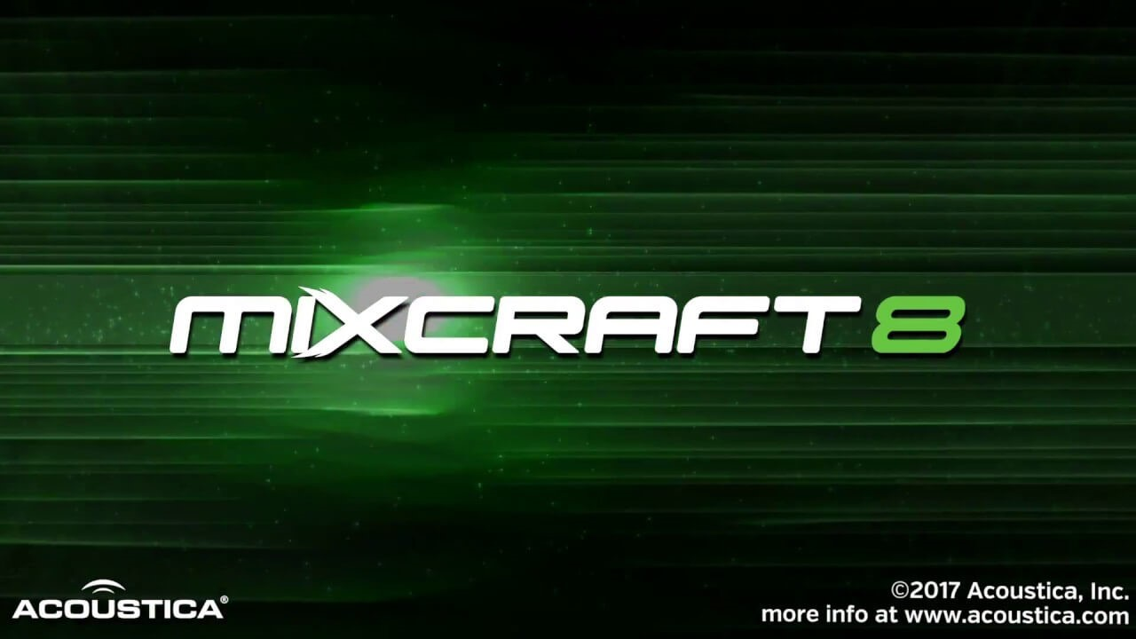 mixcraft 8- music recording software