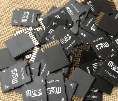 multiple SD card to backup photos