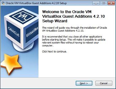 oravle vm virtualbox