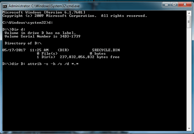 pen drive virus remove