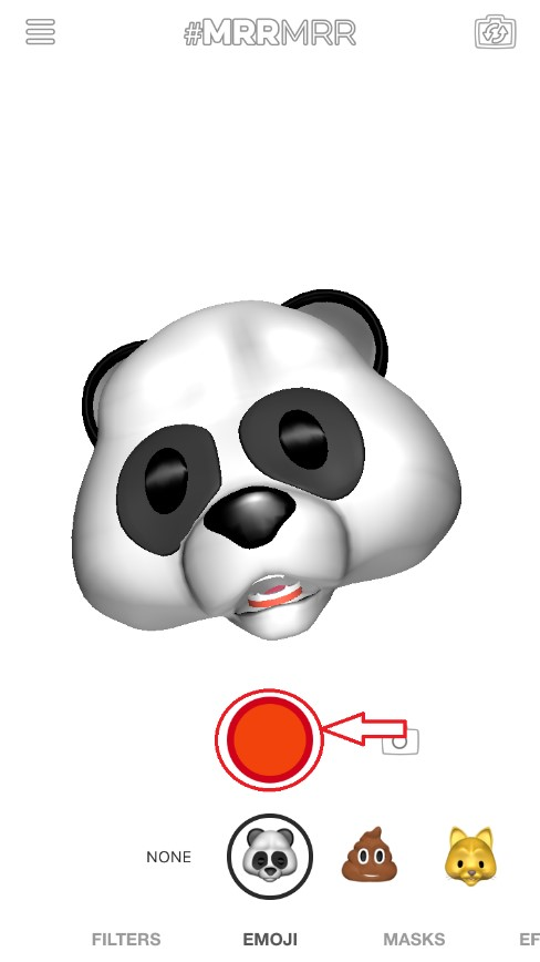 record button animoji