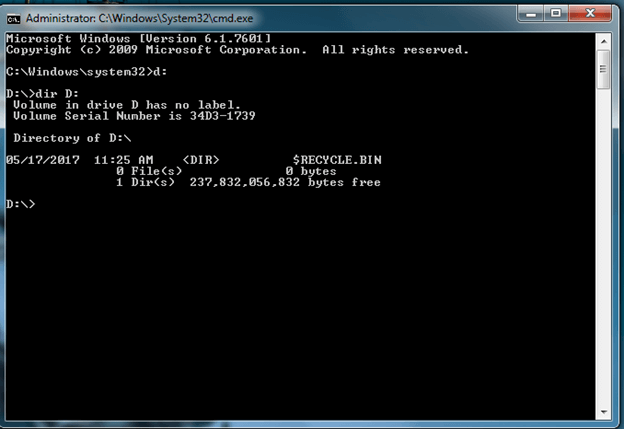 remove virus cmd open