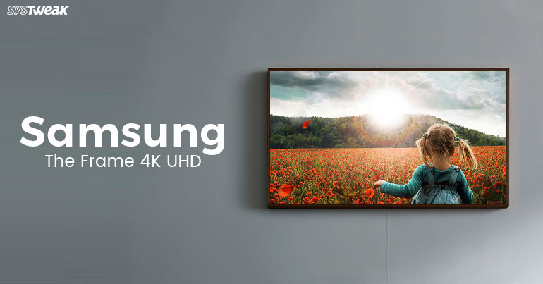 Samsung The Frame 4K UHD: Where Technology Meets Art