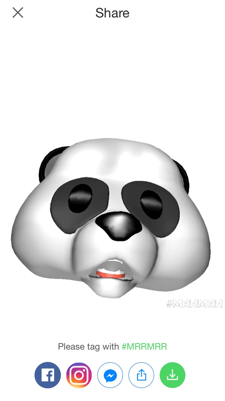 share animoji