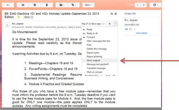 show-orginal-emails