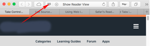 show reader view