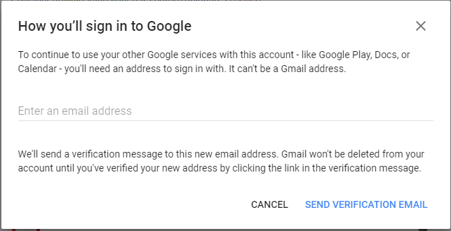 sign in again to gmail