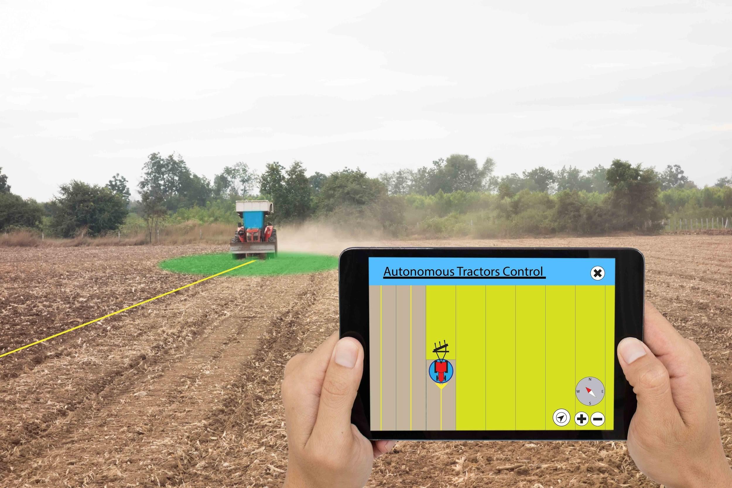tractor control AI farmer