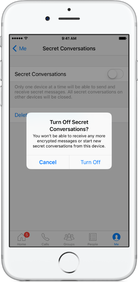 turn-on-secret-chat-on-messanger