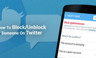 How To Block/Unblock Someone On Twitter