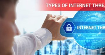 Types of Internet Threats – Infographic