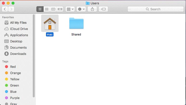 username mac