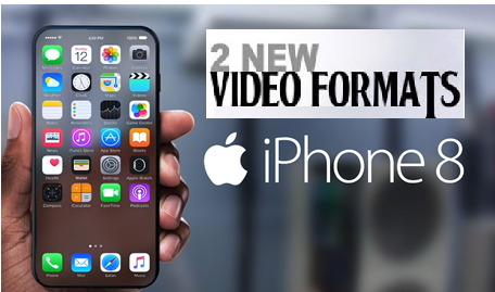 iPhone 8 video formats