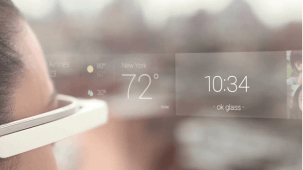 weather information in google glass