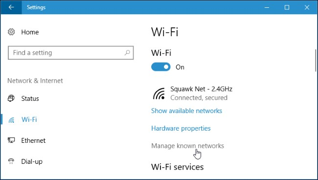 windows wifi