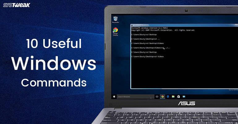 10 Useful Windows Commands
