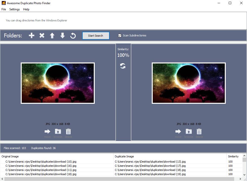 awesome duplicate phot.