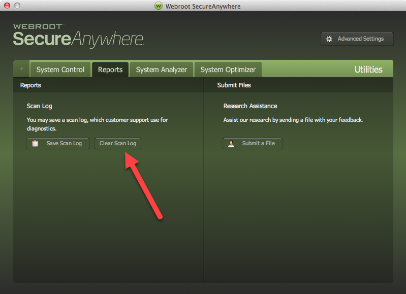 Webroot Secure Anywhere Antivirus