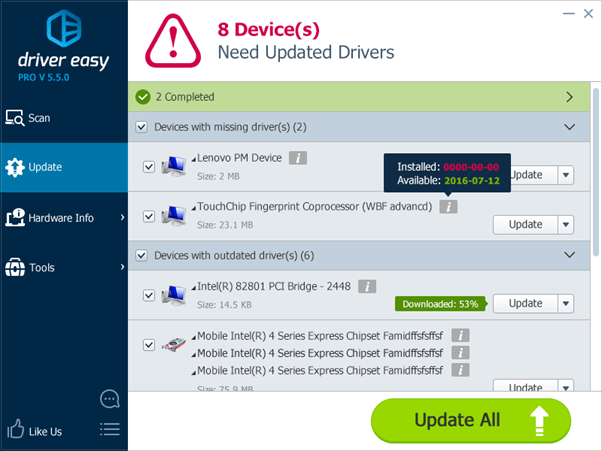 driver updater for windows 8.1 free download