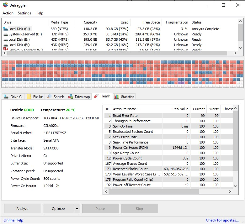 ccleaner defraggler free download