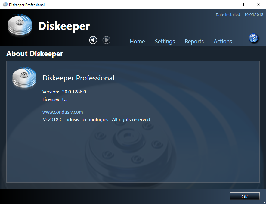 diskeeper professional download