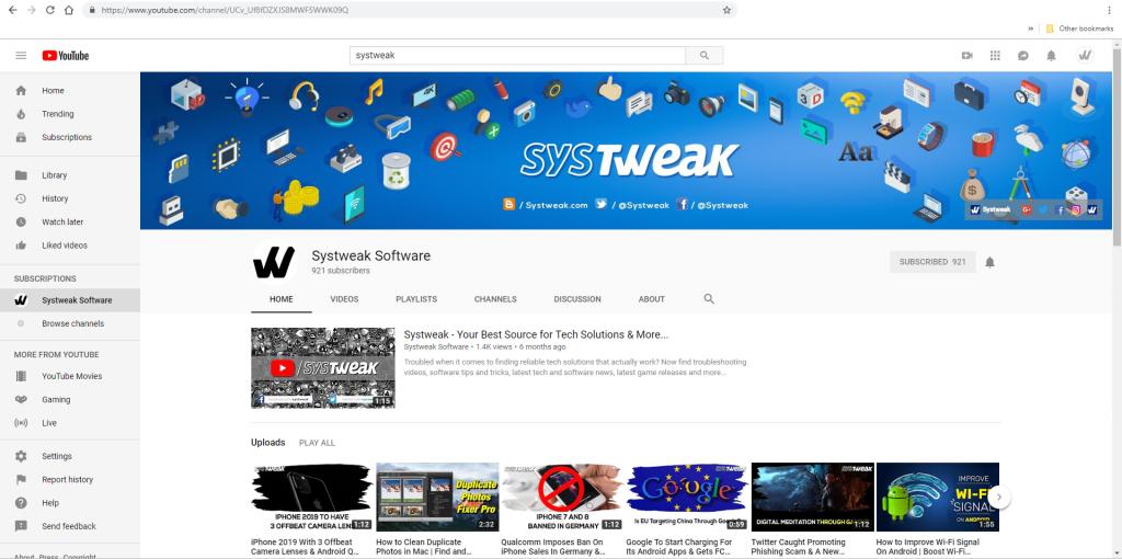 youtube sharing websites