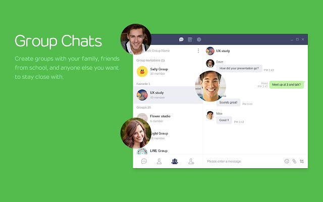 line for pc download video chat