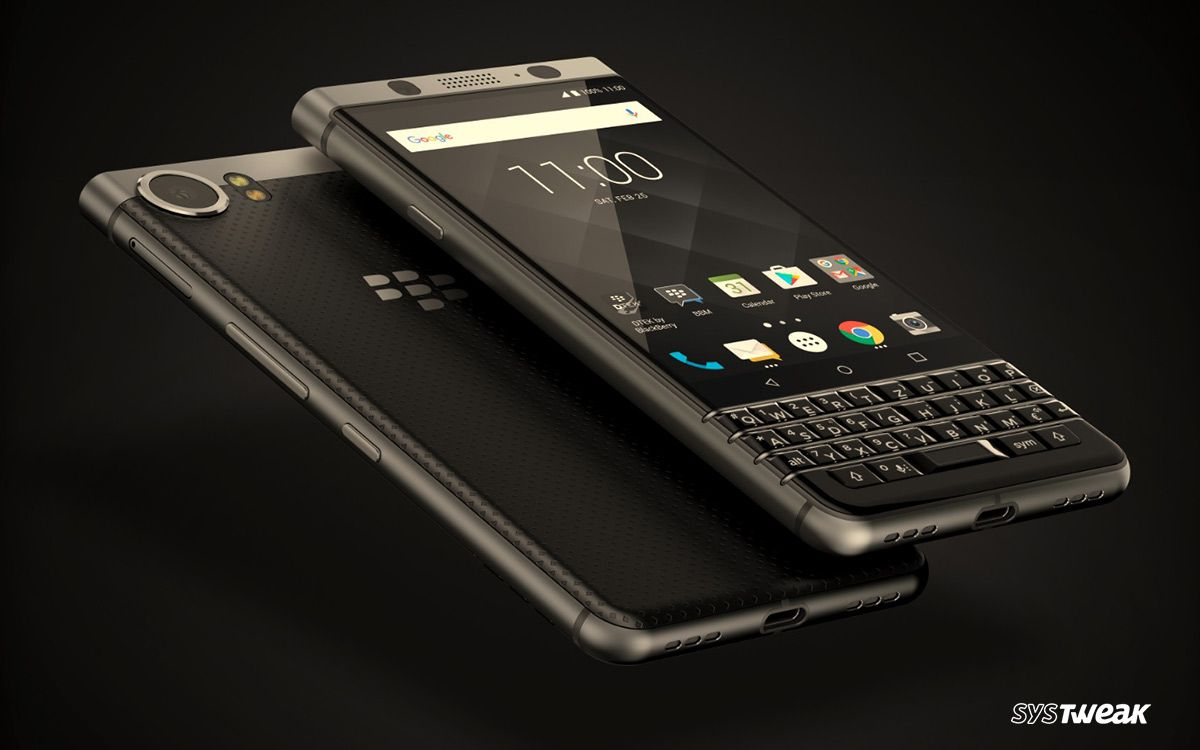 Blackberry KEYone Bronze Edition revealed at CES 2018