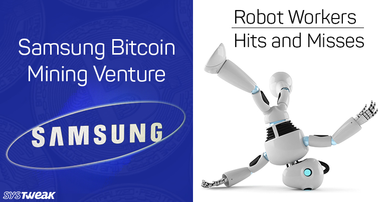 Newsletter: Cryptocurrency Mining Chips For Samsung & What Does World Want, Robot Or No Robot?