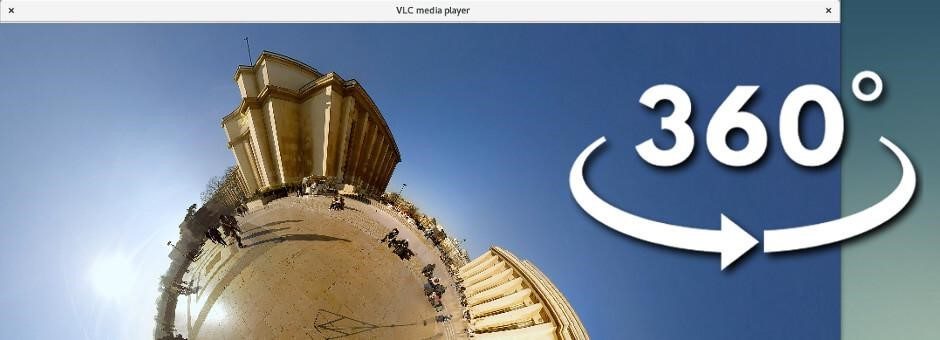 360 degree videos on VLC