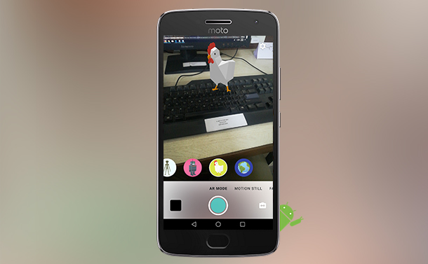Google Brings AR To Motion Stills App