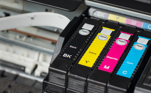 Press Stop: CMYK Used in Prints