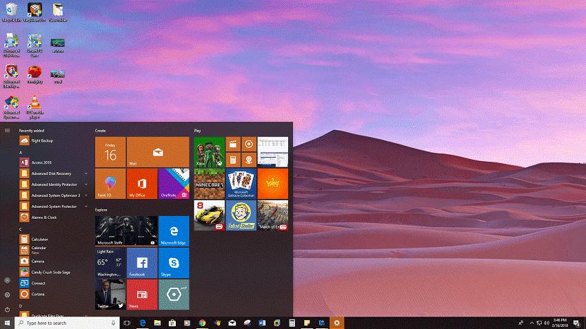Desert Panoramic