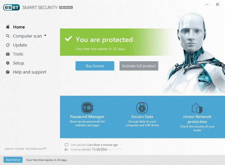 ESET Smart Security Premium- malware removal