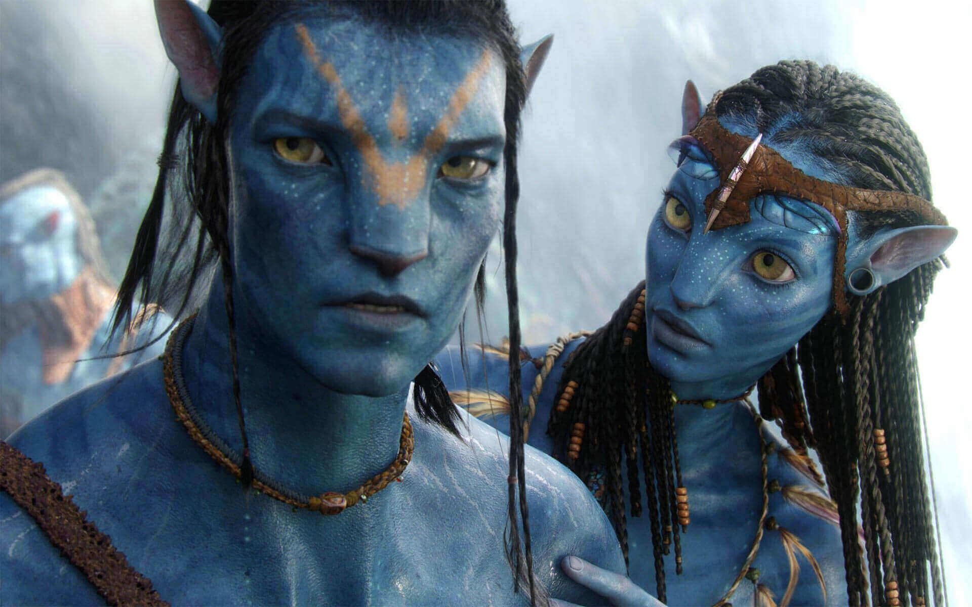 Jake Sully and Neytiri(Avatar)