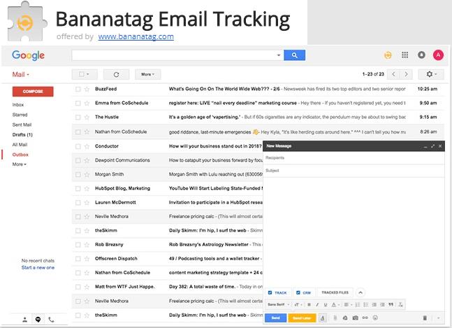 bananatag email