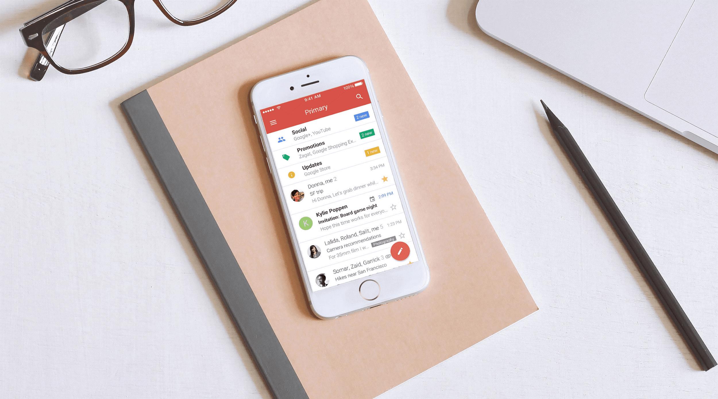gmail go new app