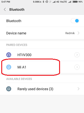use Bluetooth Tethering between Android Devices