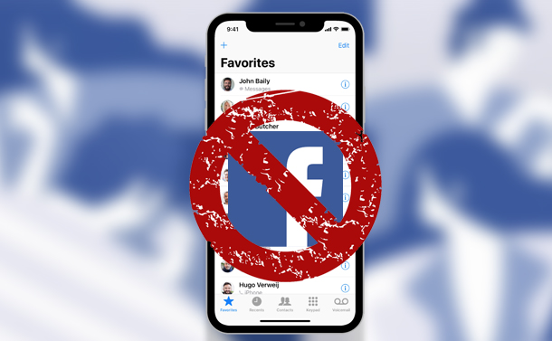 How To Delete The List Of Phone Contacts That Facebook Has