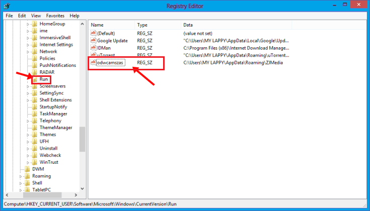 Remove Shortcut Virus From PC mehtod 1