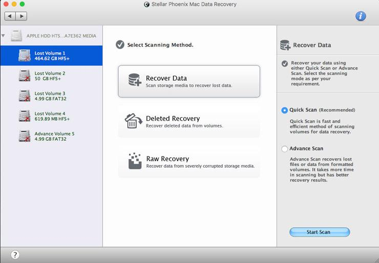 Stellar Data Recovery—Free Edition