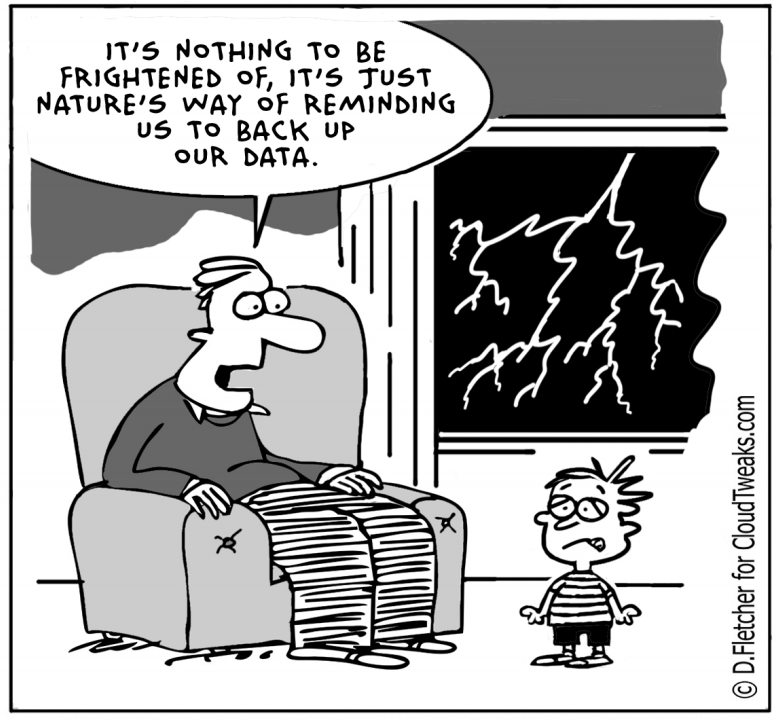 data backup must