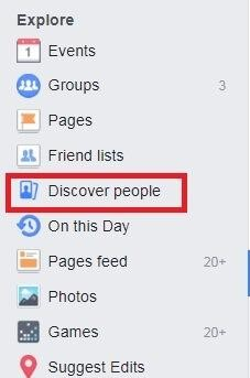 discover people facebook
