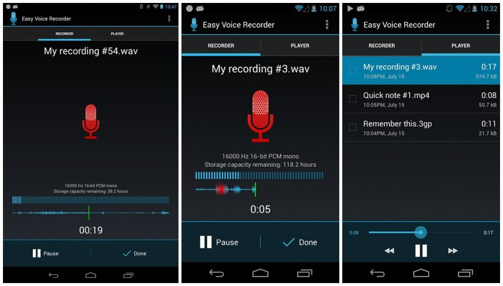 Top 10 Best Voice Recorder Apps for Android | Free Voice Recording Apps