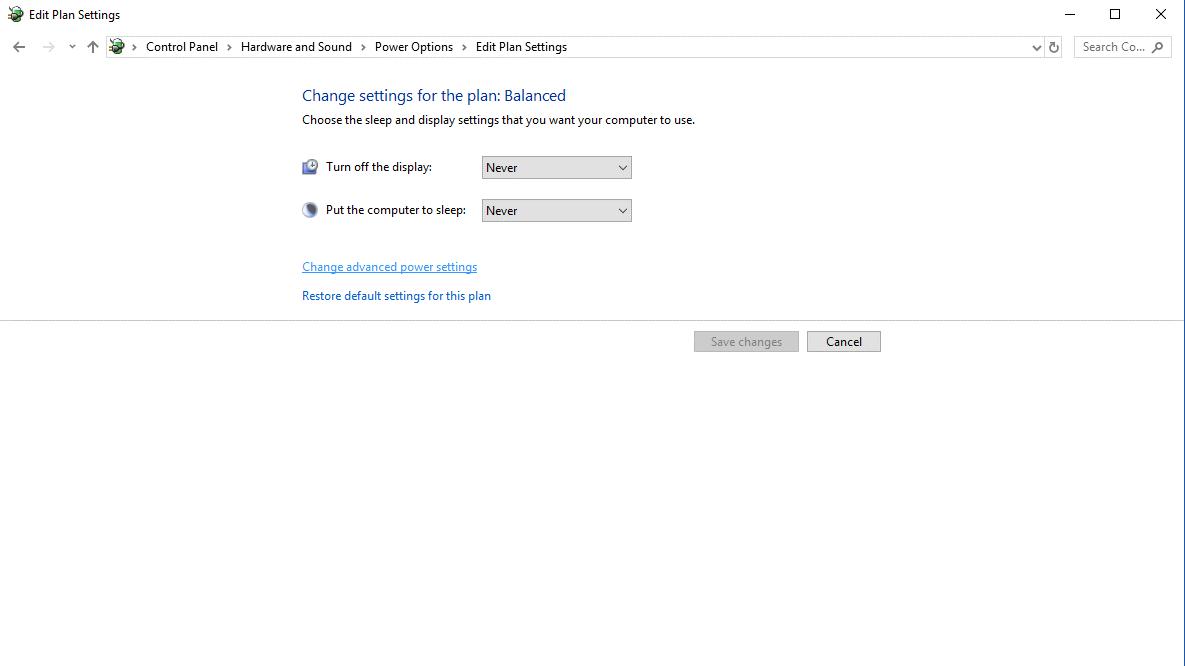 edit plan settings