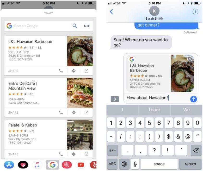 food details google