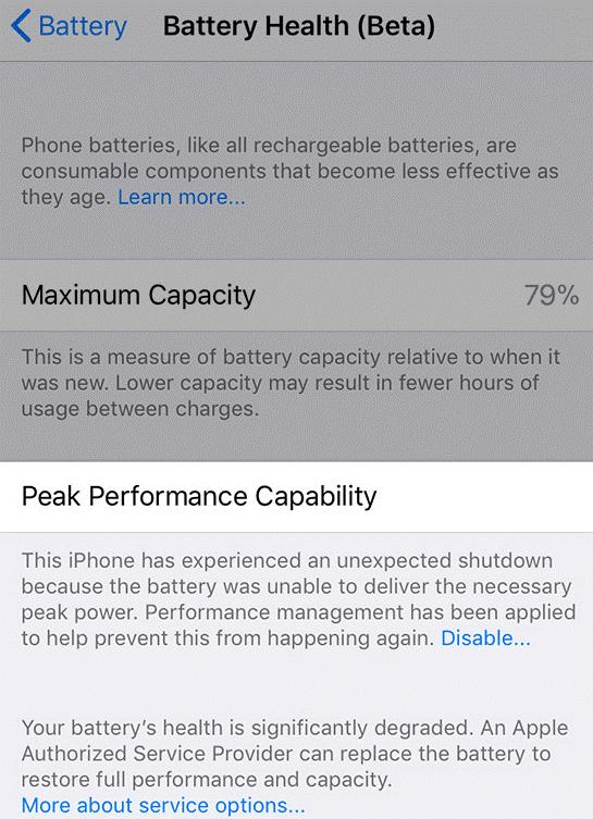 maximum capacity 79